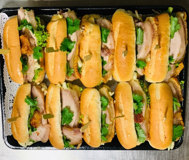 Mini Roast Pork Belly Sliders